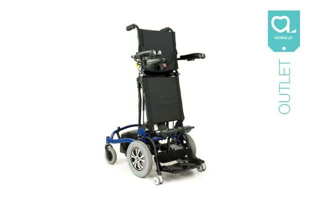Cadeira de rodas elétrica com verticalização
